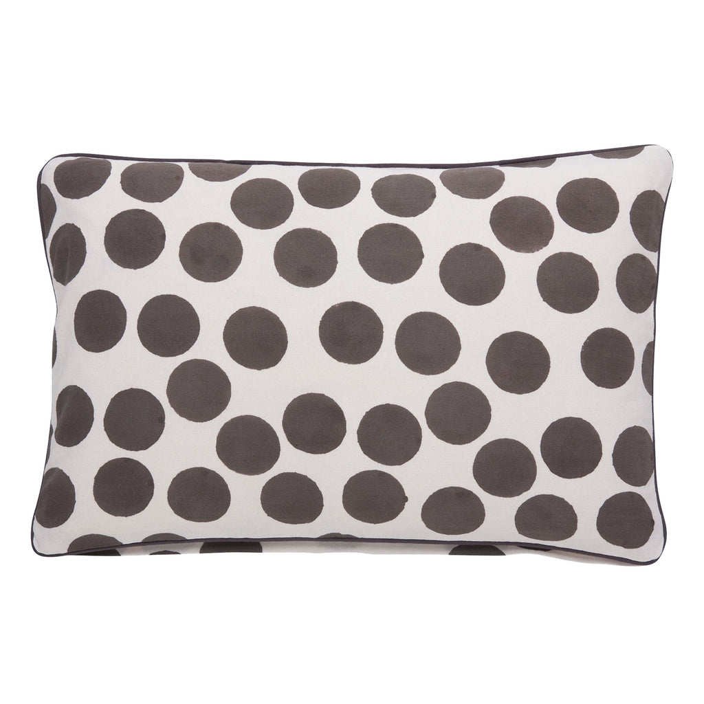 brown spotted cushion