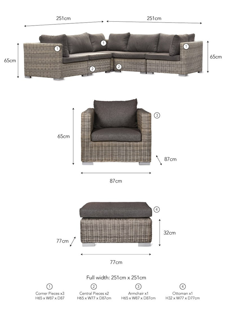 Marden Sofa Set