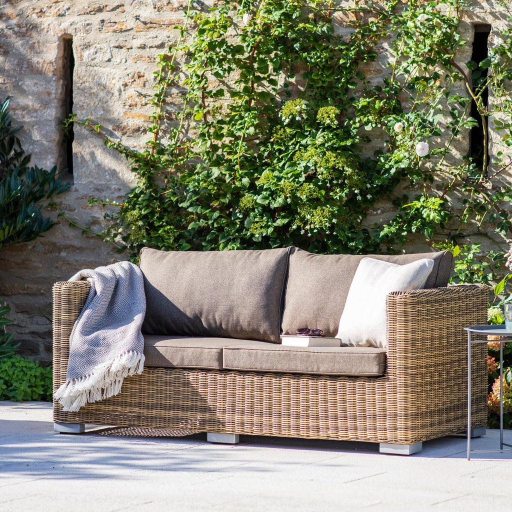 Outdoor rattan sofa