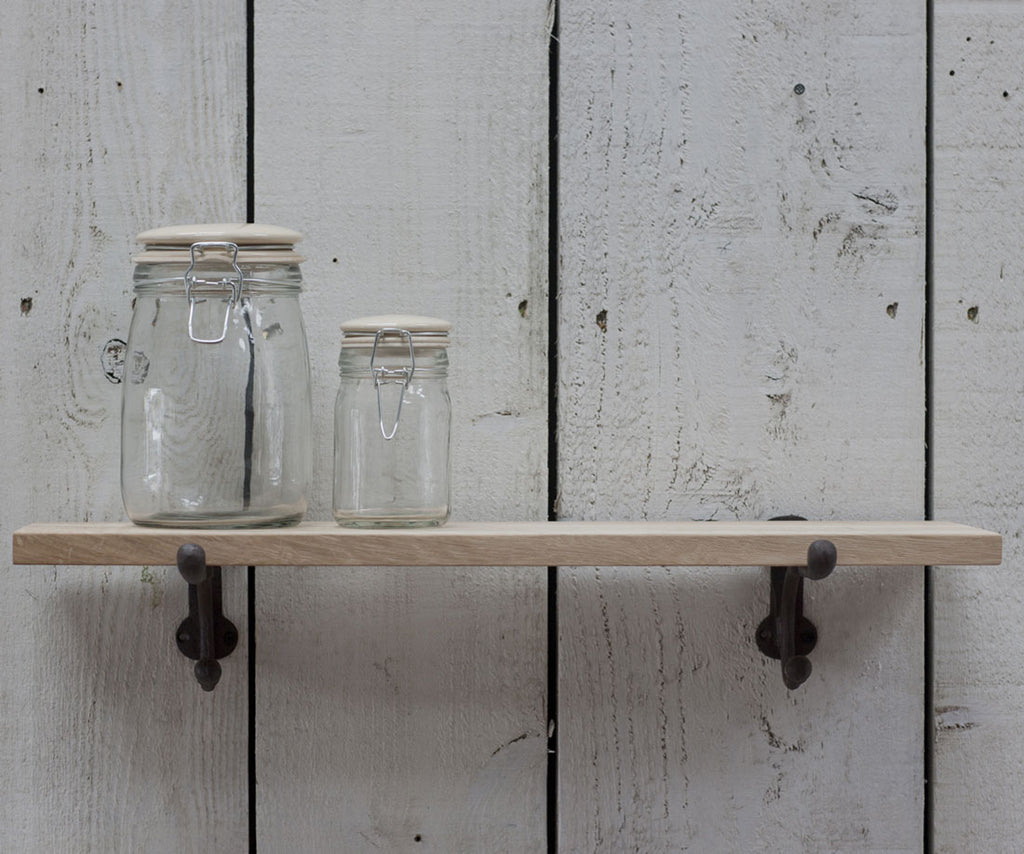small oak shelf by Garden Trading