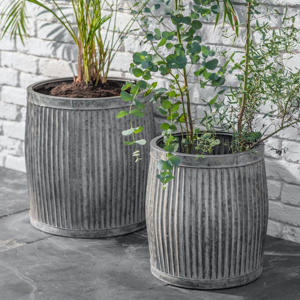 vence metal planter by Garden Trading
