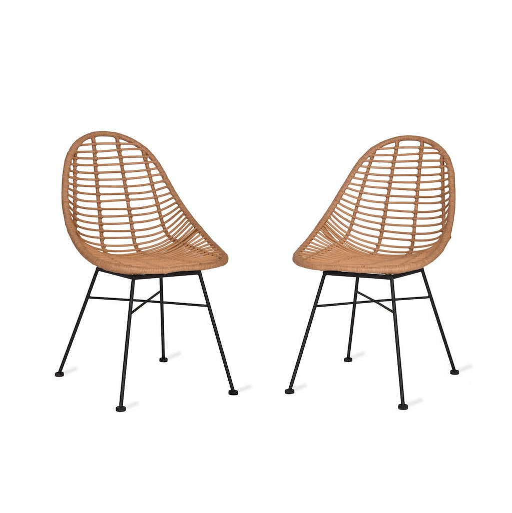 Garden Trading outdoor bamboo chairs