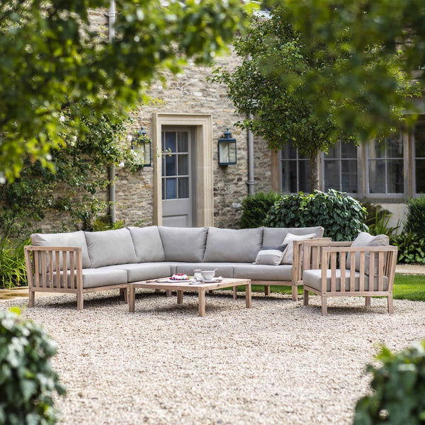 Corner sofa set Porthallow by Garden Trading