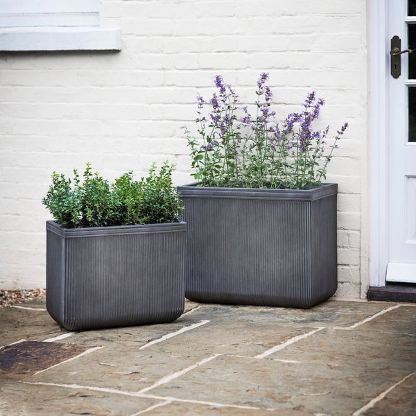 rectangular planter by Garden Trading