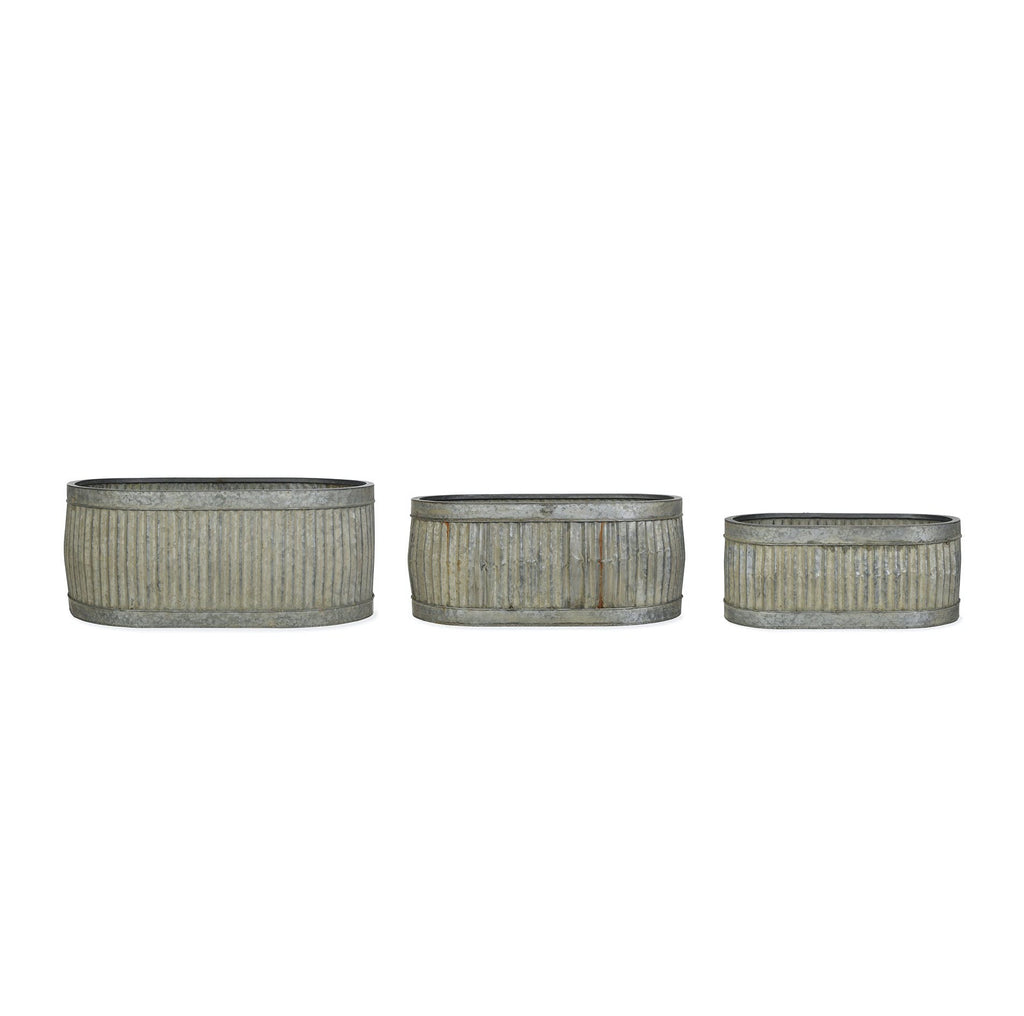 Vence oval ribbed steel toughs