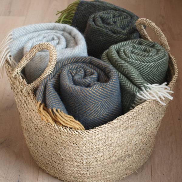 Tweedmill wool throws