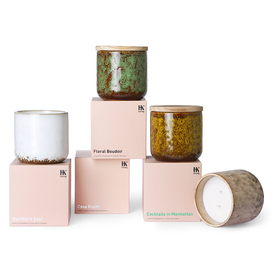 HK Living range of scented candles