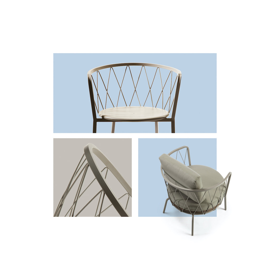 Nordium outdoor garden chair