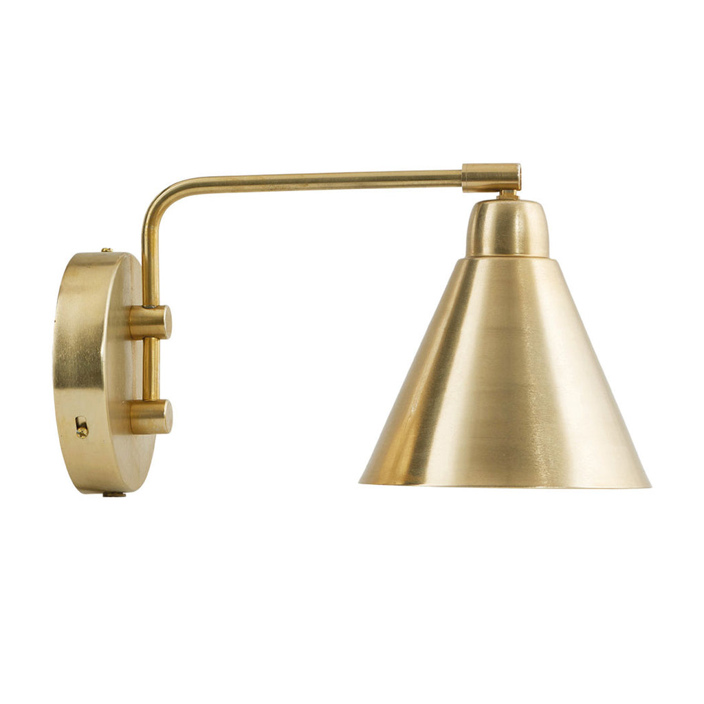 brass wall lamp game House Doctor