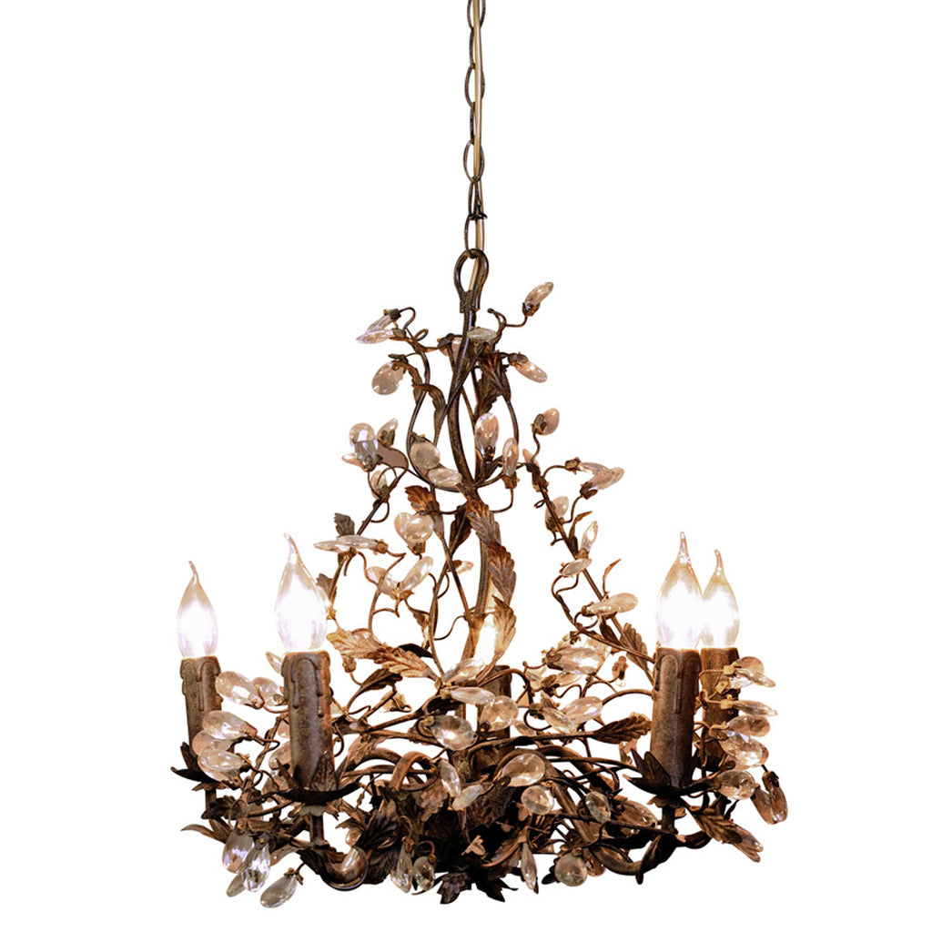 Rambouillet large crystal chandelier