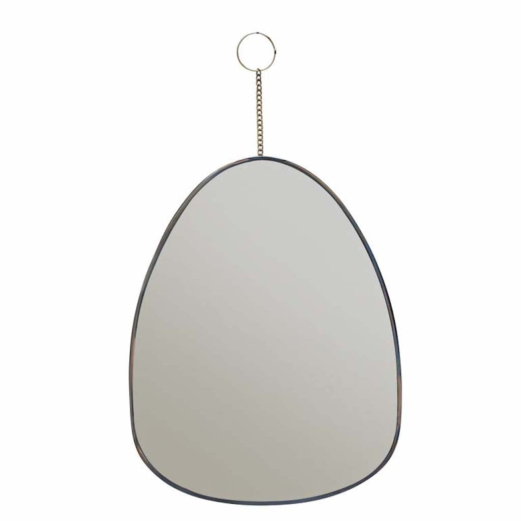 mirror with curved edges