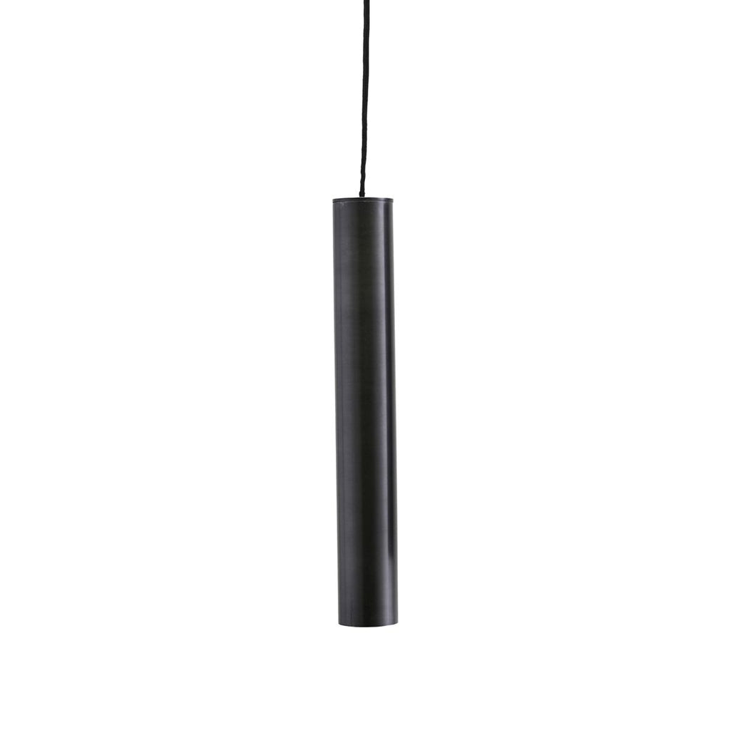 Black pin shaped pendant light by House Doctor