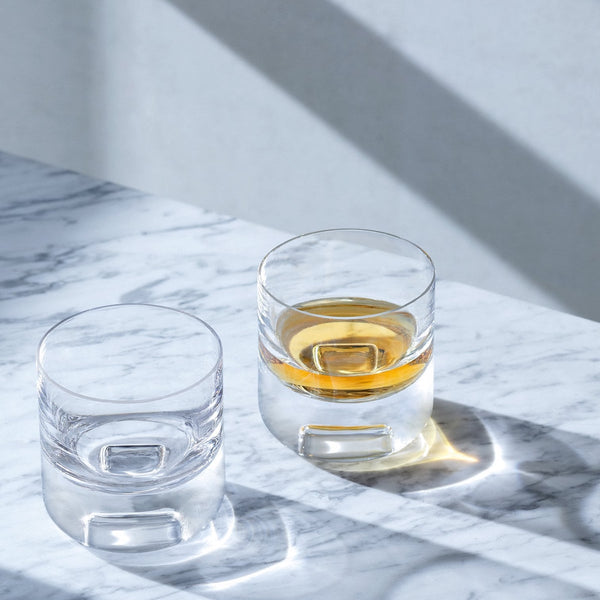 Cask whisky glasses by LSA
