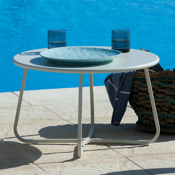 Desiree outdoor metal coffee table