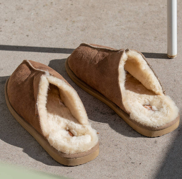carla sheepskin slippers
