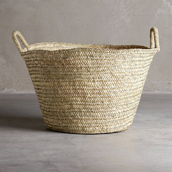 Tine K natural basket with handles