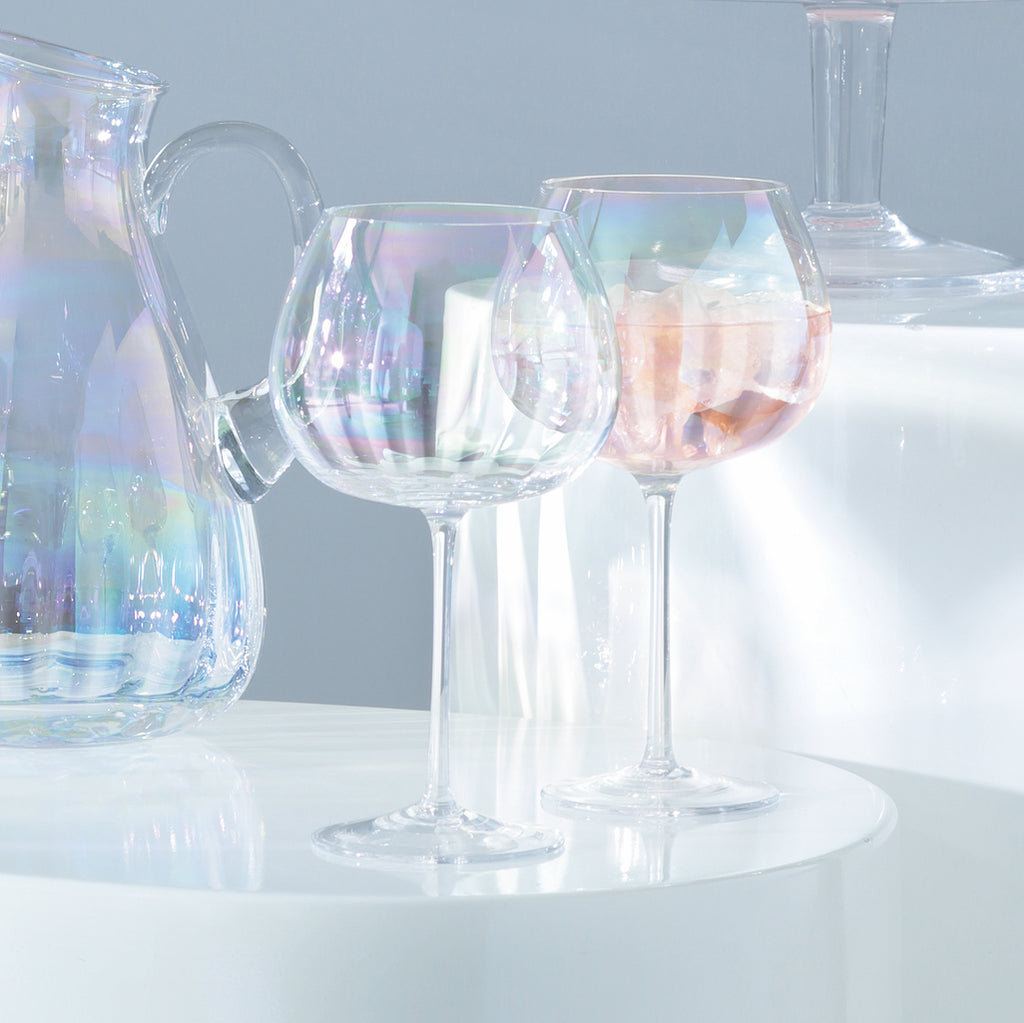 pearl balloon goblet glasses LSA