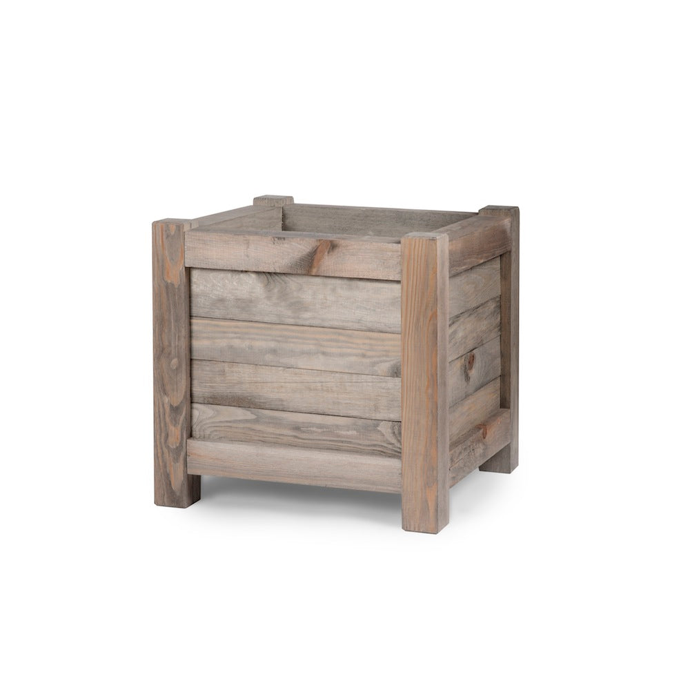Square Wood Planter