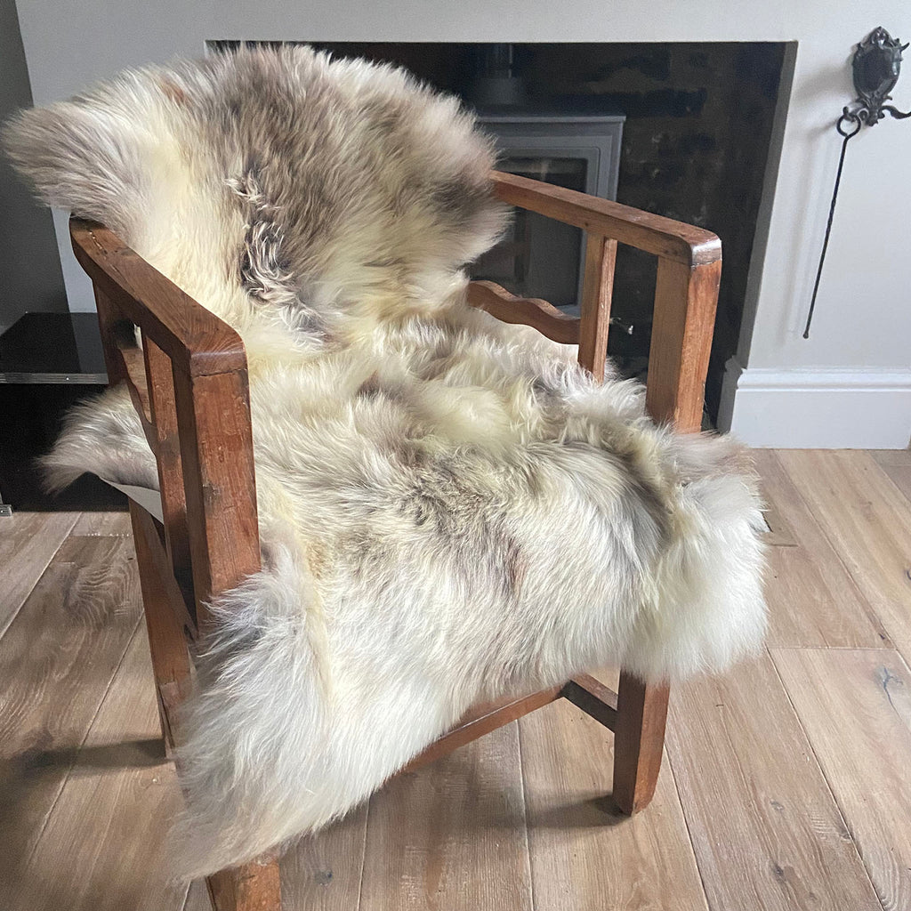 rare breeds sheepskin rug