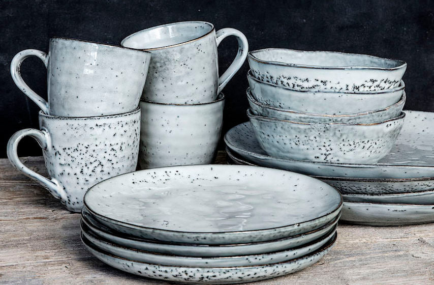 House Doctor grey Rustic crockery