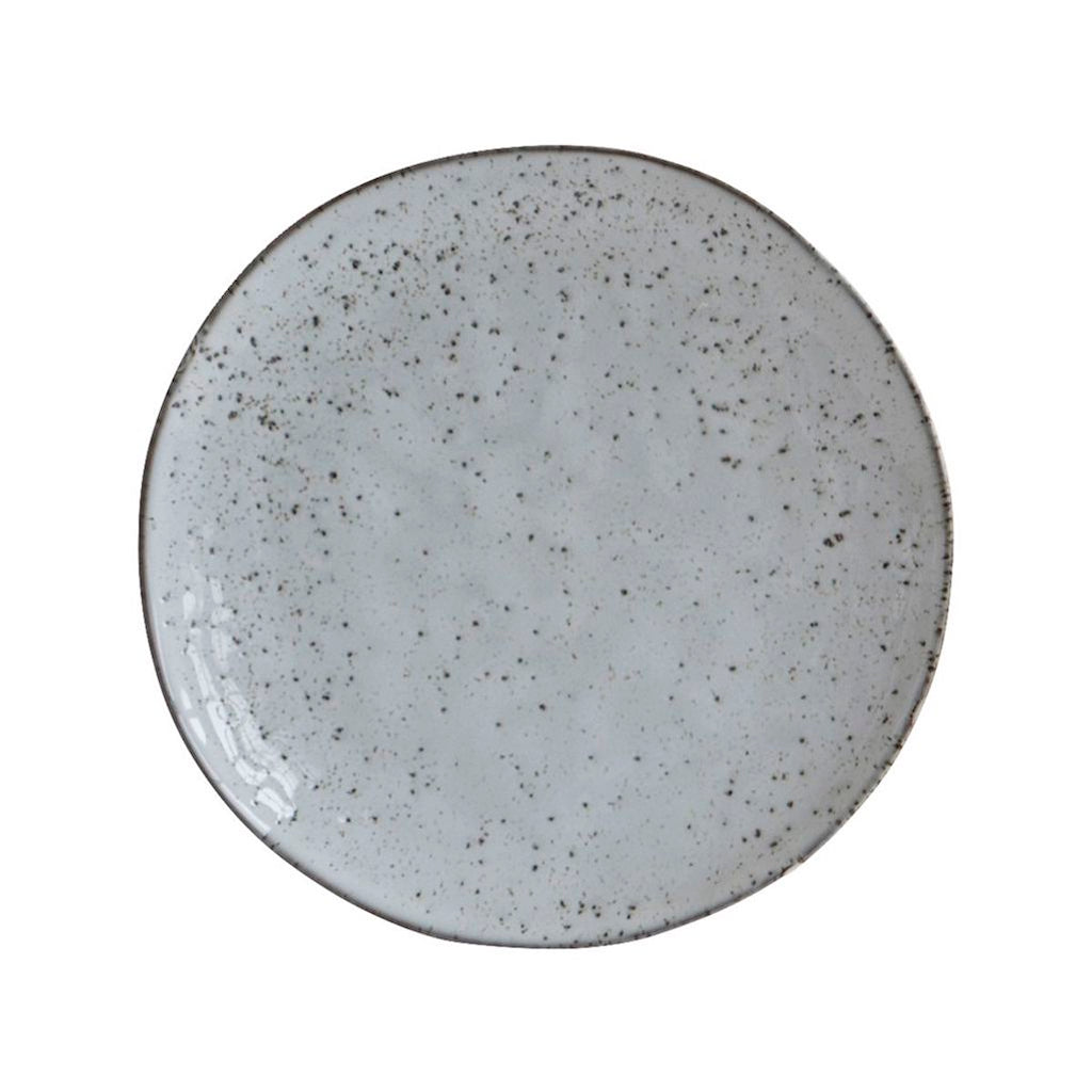 House Doctor grey dinner plate Rustic