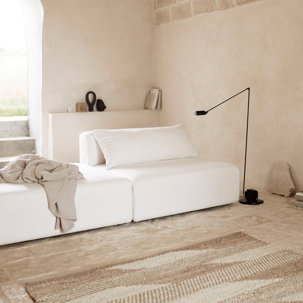 Modula white sofa by Tine K home
