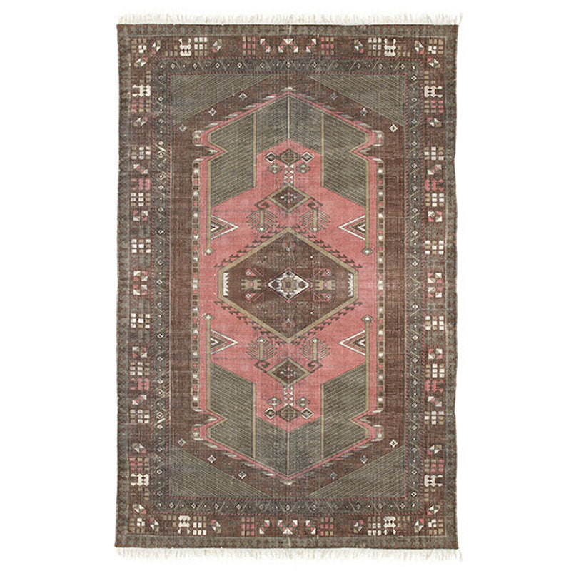 Persian style printed rug by HK lIVING