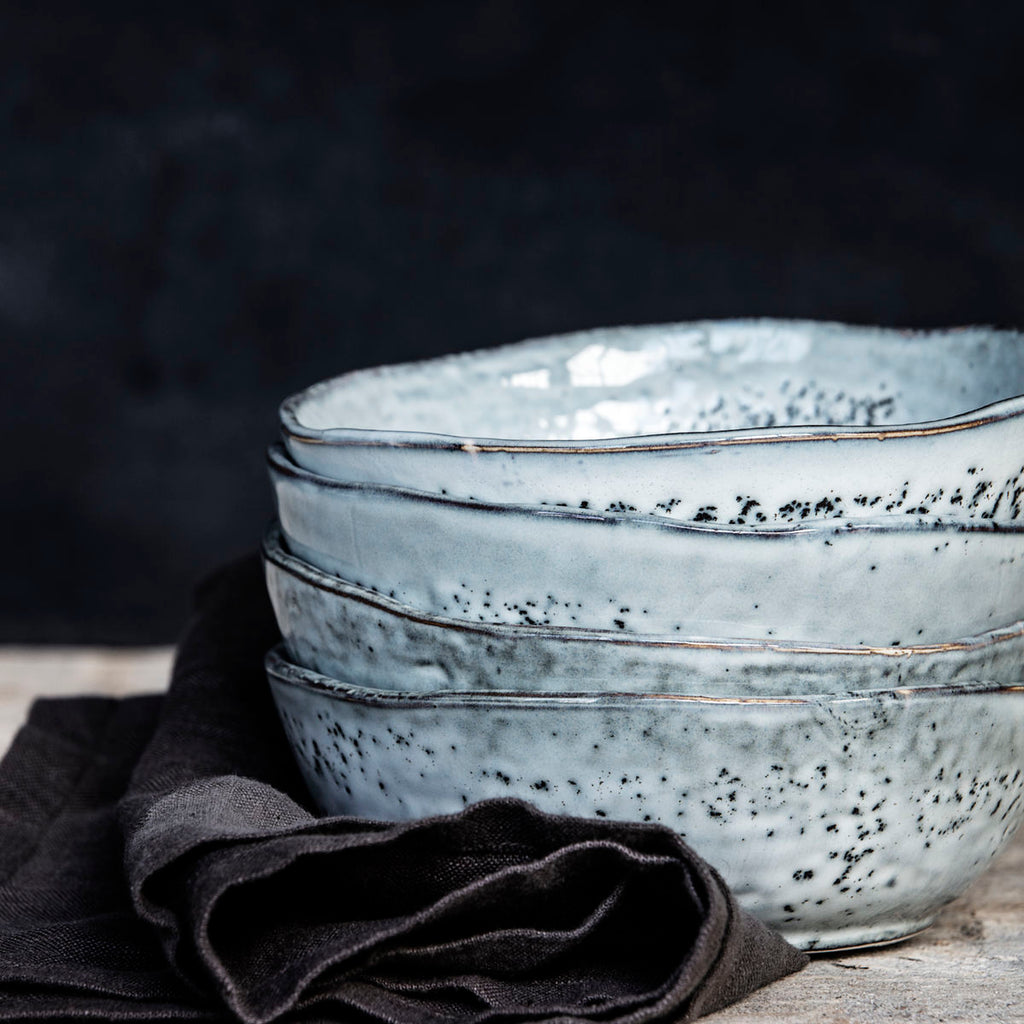 grey bowl rustic