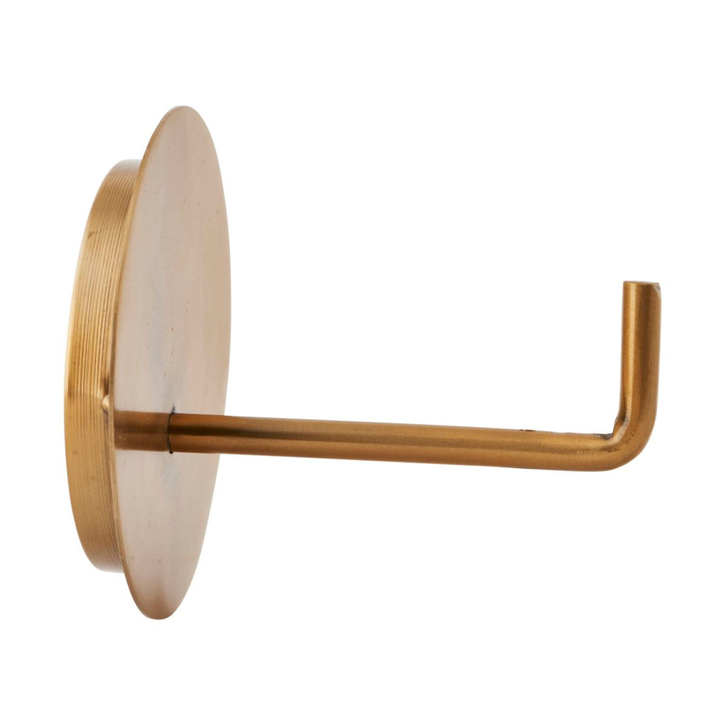 brass toilet roll holder by House Doctor