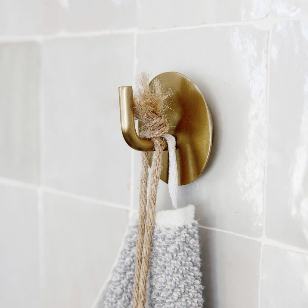 brass bathroom hook