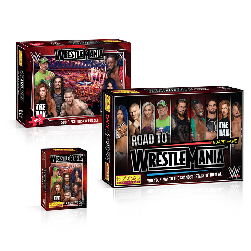 WWE® FANS EXPERIENCE THE ROAD TO WRESTLEMANIA® IN NEW BOARD GAME