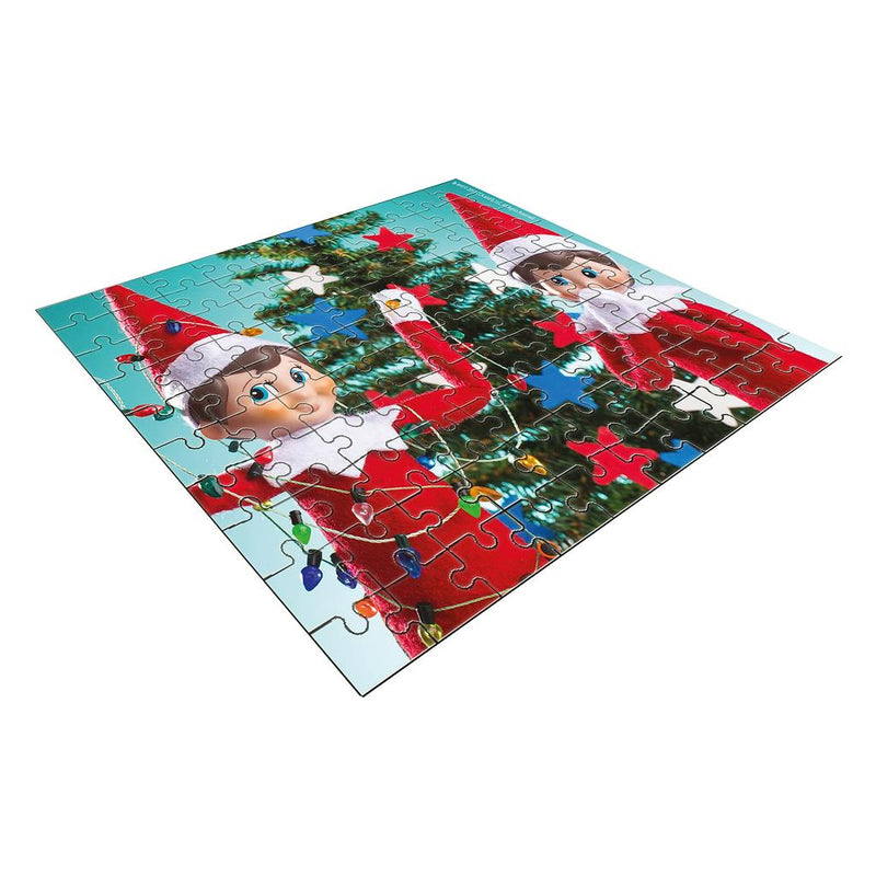 Elf on the Shelf 100pc Puzzle