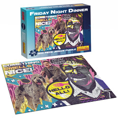 500pc Friday Night Dinner Jigsaw Puzzle.  New stock arriving January 2021.