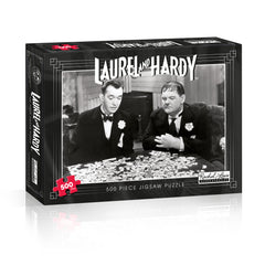 Laurel & Hardy 500 Piece Jigsaw Puzzle