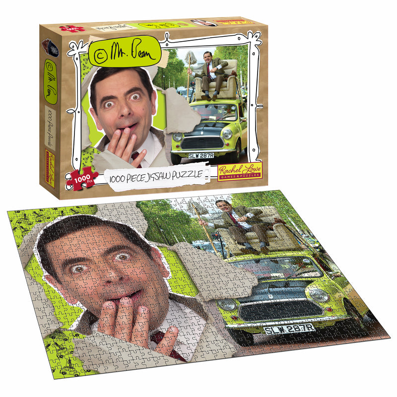 1000pc Mr Bean Jigsaw Puzzle - New Stock Arriving January 2021.