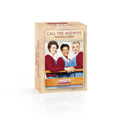 Call The Midwife Playing Cards feature cast images on all 4 sets of court cards.