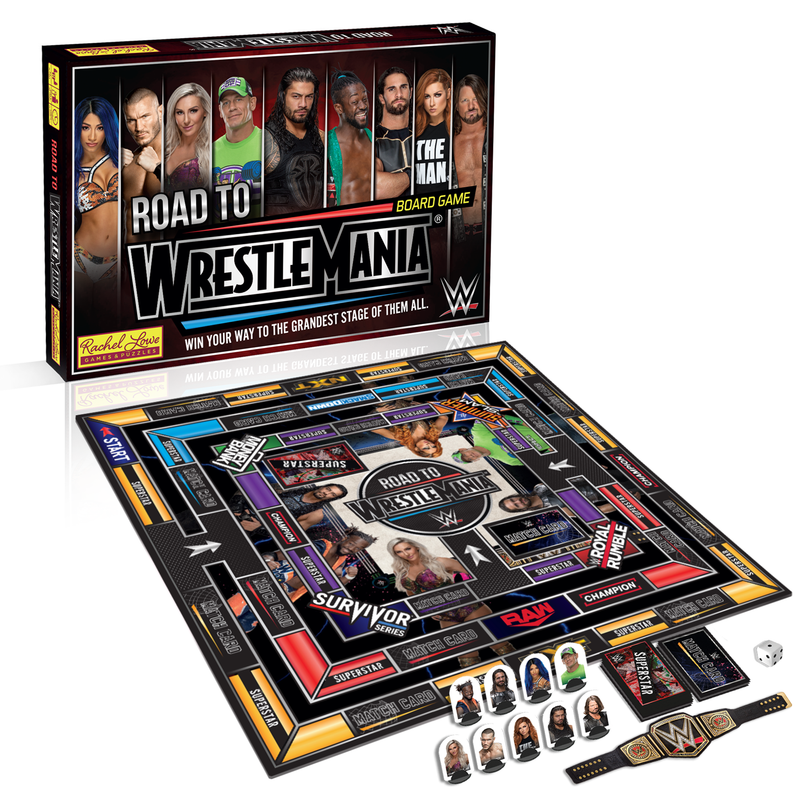 t's WWE's biggest event of the year and everyone is trying to make it to the main event of WrestleMania!  The only way you can get there is to rack up the victories across WWE's biggest shows and make sure you have the best move set, so you can taste victory on the Grandest Stage of Them All.  Win your way through NXT, Raw, SmackDown and a big pay-per-view, use your best moves to defeat your opponent and get your hands on the prestigious WWE Championship!