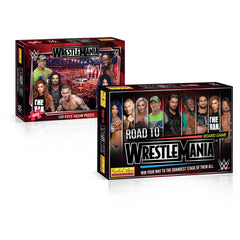 WWE Wrestlemania Board Game & Puzzle Bundle