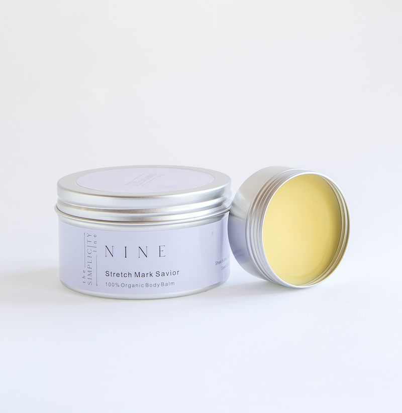 NINE organic belly balm stretch mark savior and prevention
