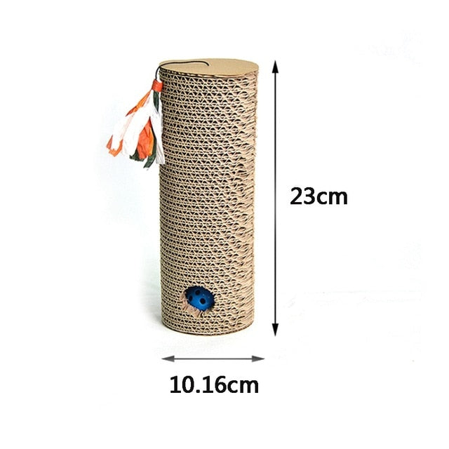 Scratching for Pets Cat Toy Scratch Corrugated Paper Board