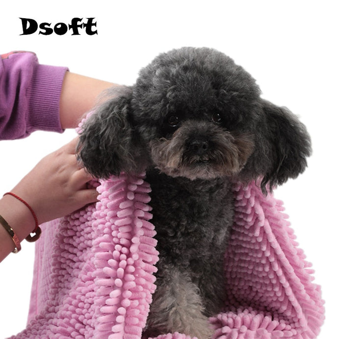 Pet Drying Towel Super Absorbent Pet Bath Towel