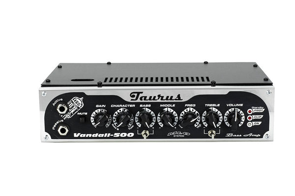 Vandall 500 Black Bass Amplifier (Tube & Solid State)