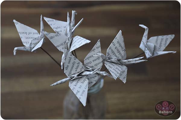 Paper Cranes - Perfect Décor for your home or wedding table!