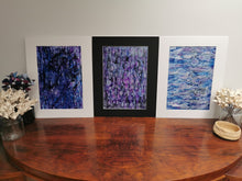 Load image into Gallery viewer, Original Ink Artwork - Purple Ripple (No. 2 of series of 3)