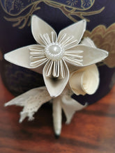 Load image into Gallery viewer, Bridal Bouquet - White & Cream (with free matching buttonhole)