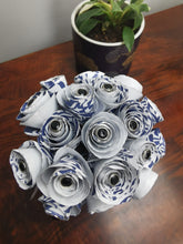 Load image into Gallery viewer, Bridesmaid Bouquet - Blue & White