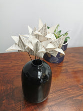 Load image into Gallery viewer, Origami Tulips - book pages (bunch of 5)