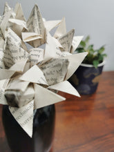 Load image into Gallery viewer, Origami Tulips - book pages (bunch of 10)