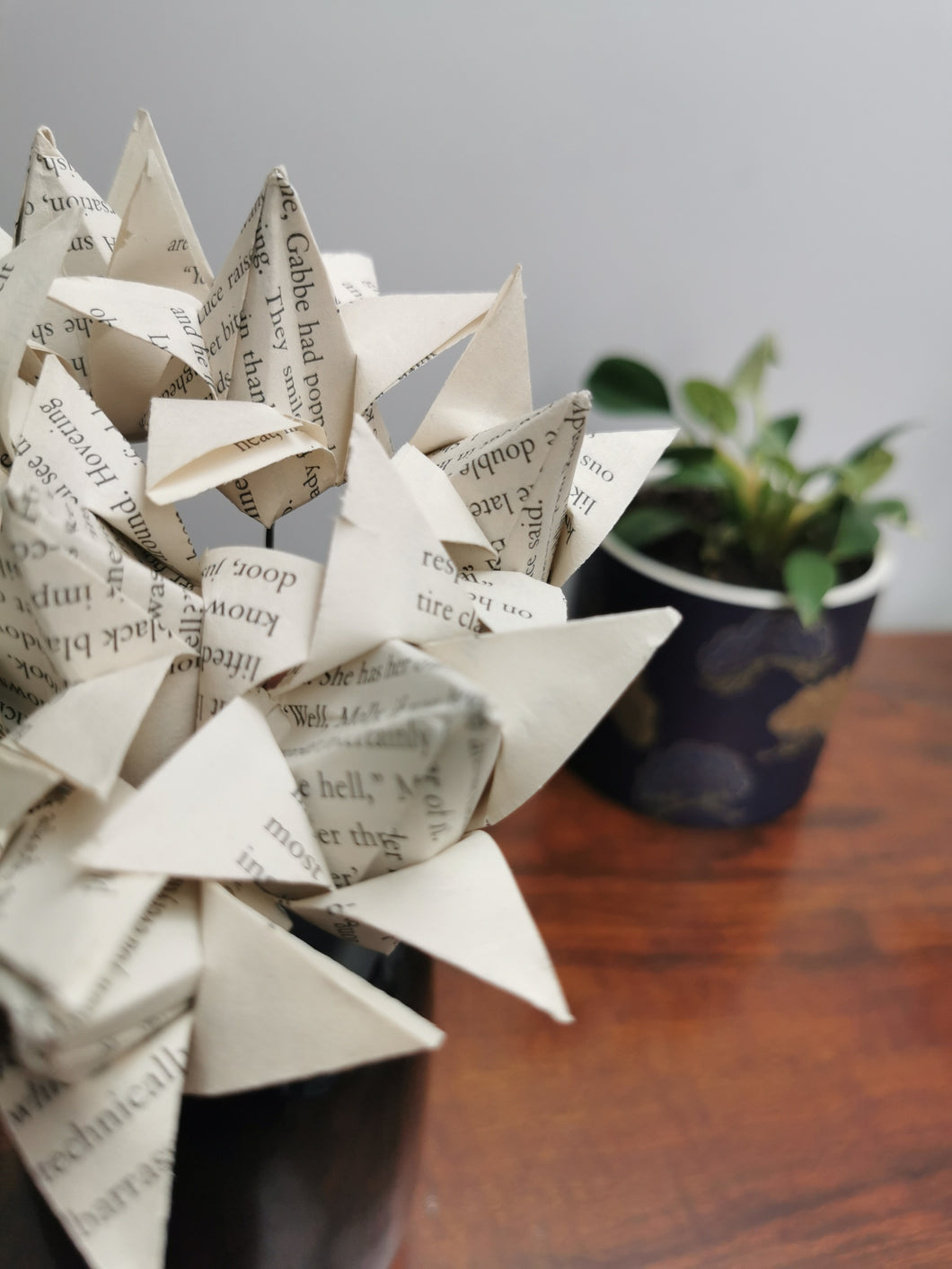 Origami Tulips - book pages (bunch of 10)