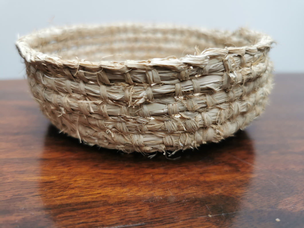 Coil Basket - Natural Raffia